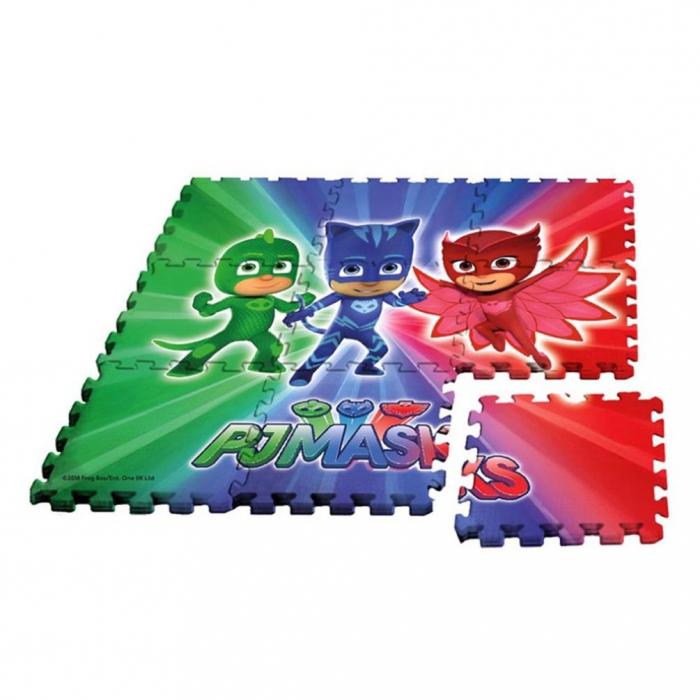 Puzzle,PJ Masks,Tip covor,Model Gigant,9 piese 30x30cm 0