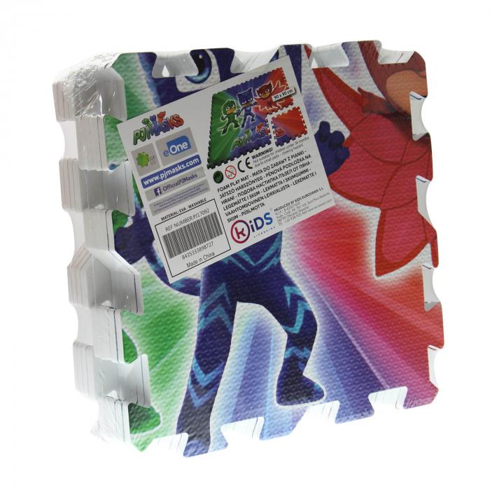 Puzzle,PJ Masks,Tip covor,Model Gigant,9 piese 30x30cm 1