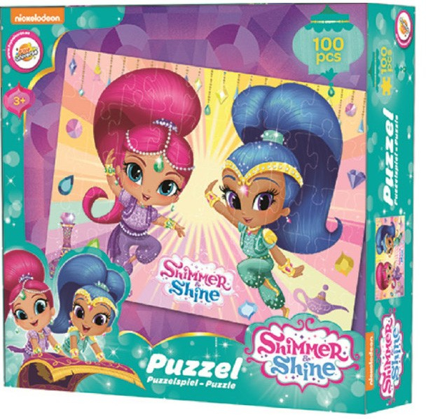 Puzzle Shimmer Shine carton 100 piese 0