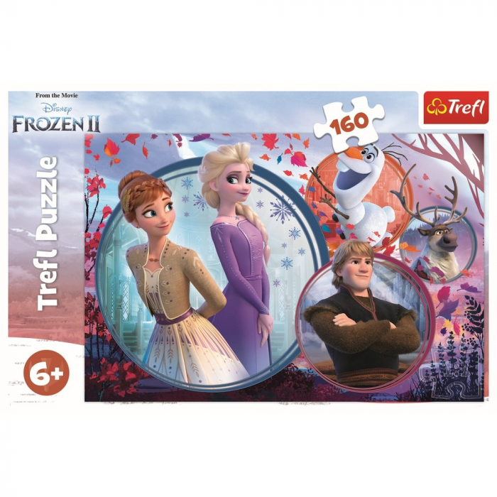 Puzzle Trefl, Disney Frozen II, 160 piese 2