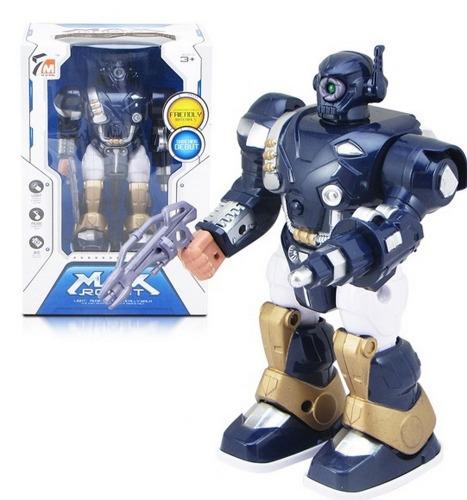 Robot max albastru 16 x 24 x 11 cm 0