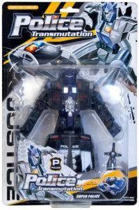 Robot negru police transmutation 0