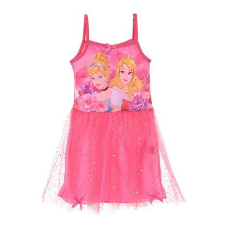 Rochie bretele Printese roz 6 ani 0