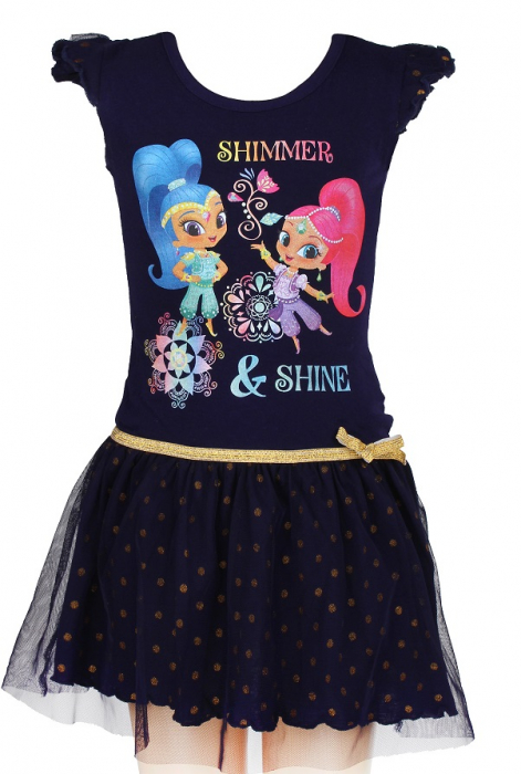 Rochie Shimmer si Shine cu tull 0