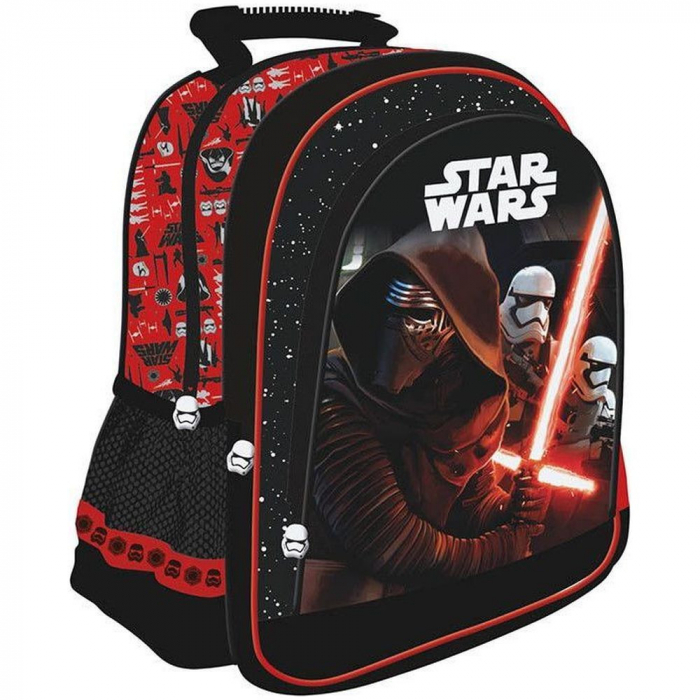 Rucsac ghiozdan Star Wars The Force Awakens - Unipap - Rosu 0