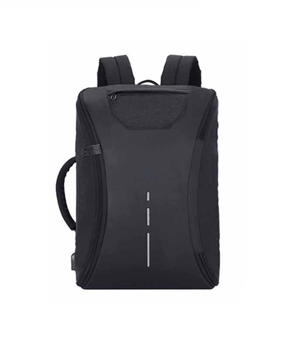 Rucsac laptop antifurt, 47x32x17 cm, port USB 0