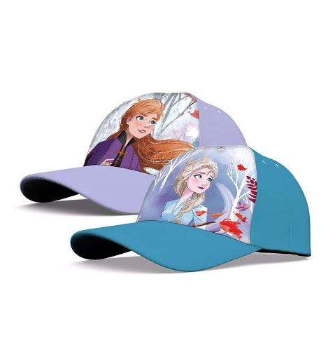 Sapca Frozen Anna, Elsa 52-54 cm 1
