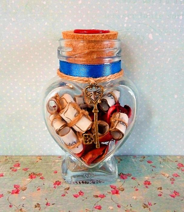 Scrisoare cadou pentru iubit - puzzle in mini-borcan 4 [0]