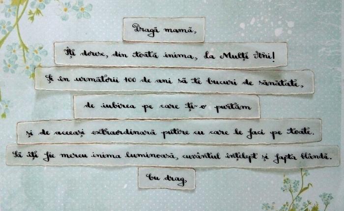 Scrisoare cadou pentru mama - puzzle in mini-borcan (model 5) [1]