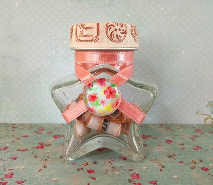 Scrisoare cadou pentru mama - puzzle in mini-borcan (model 5) [2]