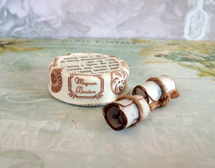 Scrisoare cadou pentru mama - puzzle in mini-borcan (model 5) [5]