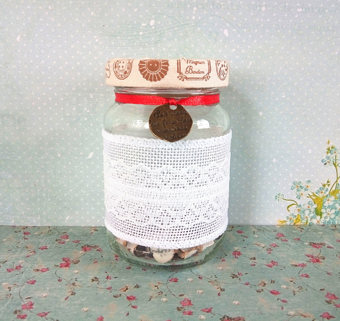 Scrisoare cadou pentru mama - puzzle in mini-borcan (model 6) [0]
