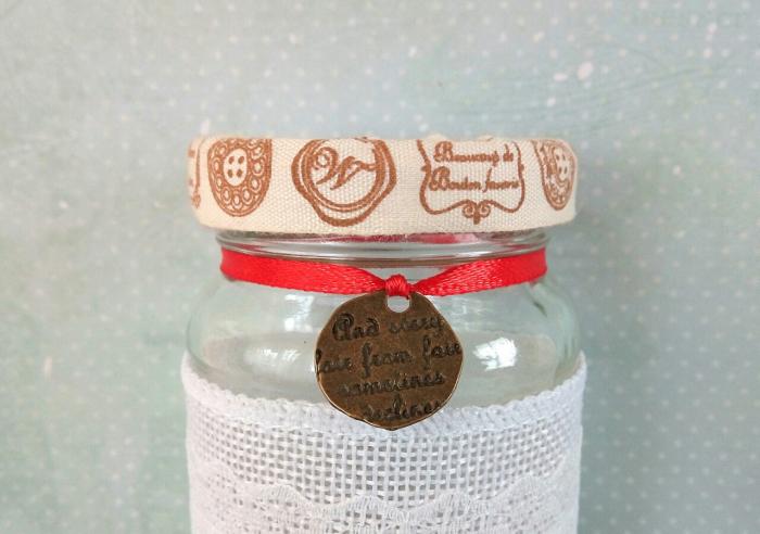 Scrisoare cadou pentru mama - puzzle in mini-borcan (model 6) [2]