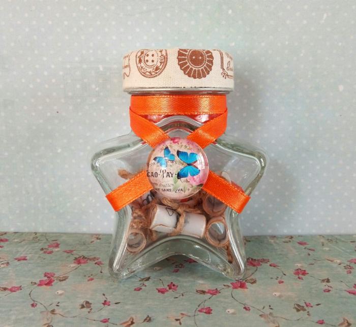 Scrisoare cadou pentru sora - puzzle in mini-borcan 2 [2]