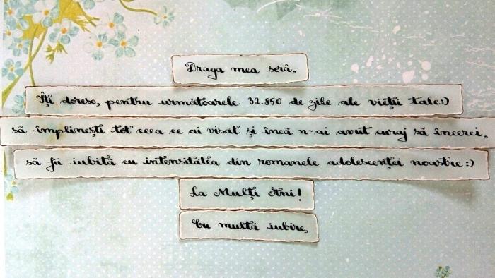 Scrisoare cadou pentru sora - puzzle in mini-borcan (model 2) [1]