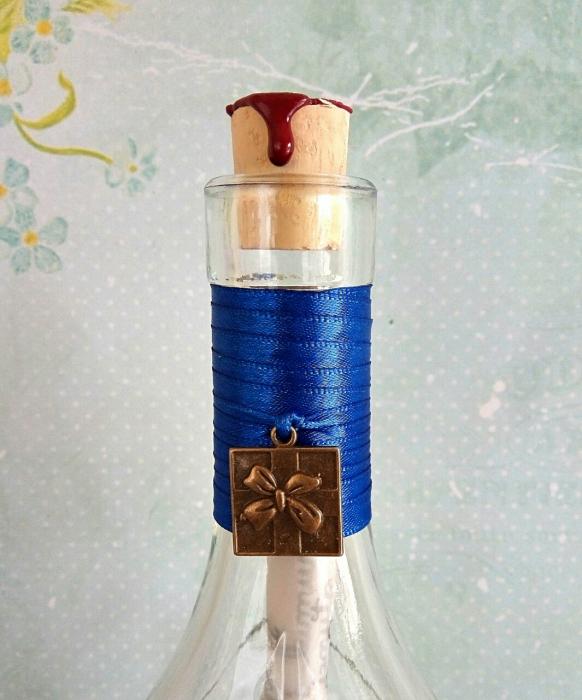 Scrisoare cadou pentru sotie  - papirus in sticla (model 6) [3]