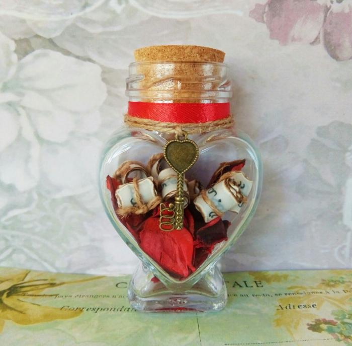 Scrisoare cadou pentru sotie - puzzle in mini-borcan 6 [0]