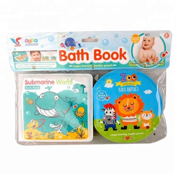 Set 2 carti baie bebe cu sunet 0
