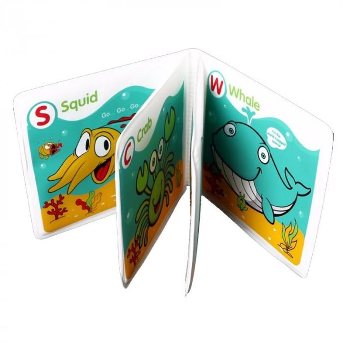 Set 2 carti baie bebe cu sunet 2