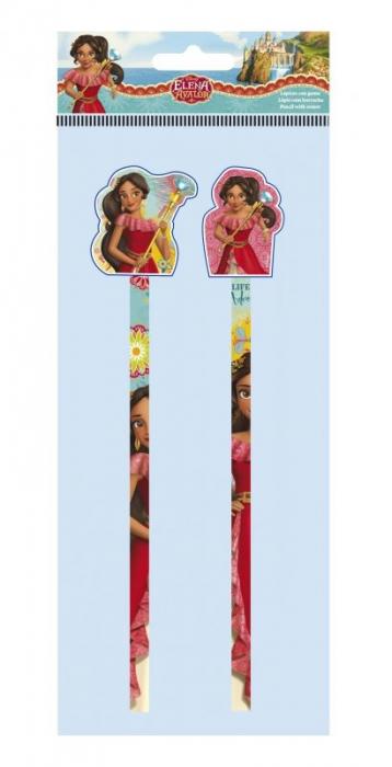Set 2 creioane cu guma sters Elena din Avalor 0