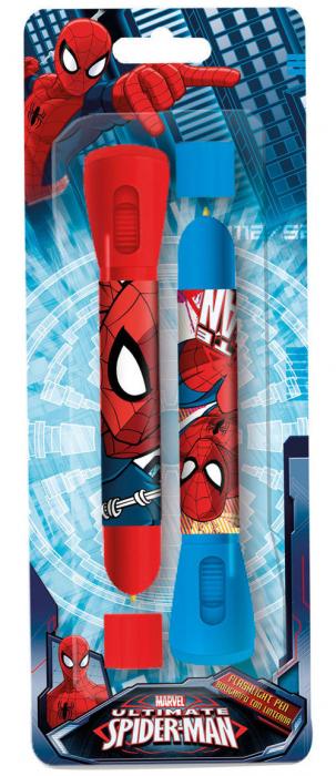 Set 2 pixuri cu lanterna Spiderman 0