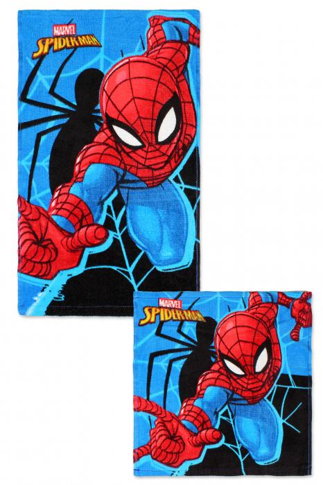 Set 2 prosoape maini Spiderman 0