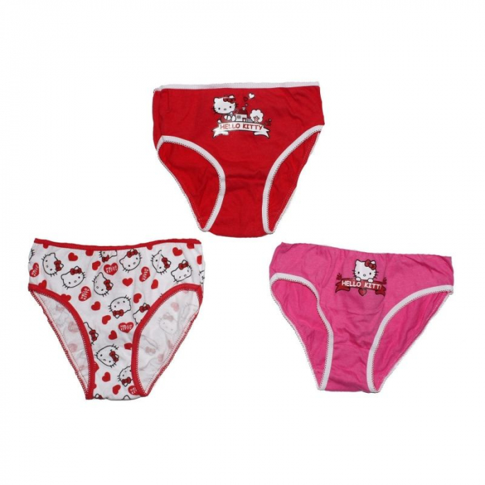 Set 3 chiloti hello Kitty 2-3 ani, 92-98 cm 0