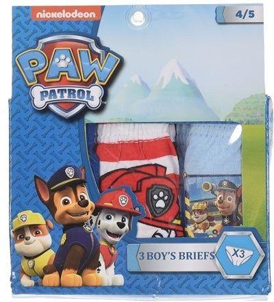 Set 3 perechi chiloti Paw Patrol baieti 1