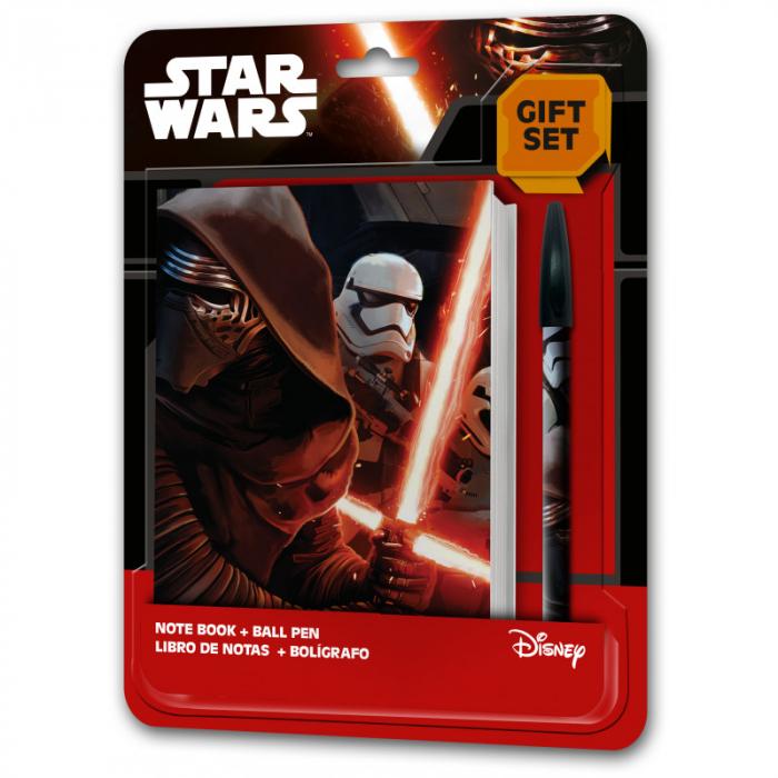 Set carnetel si pix Star Wars 0