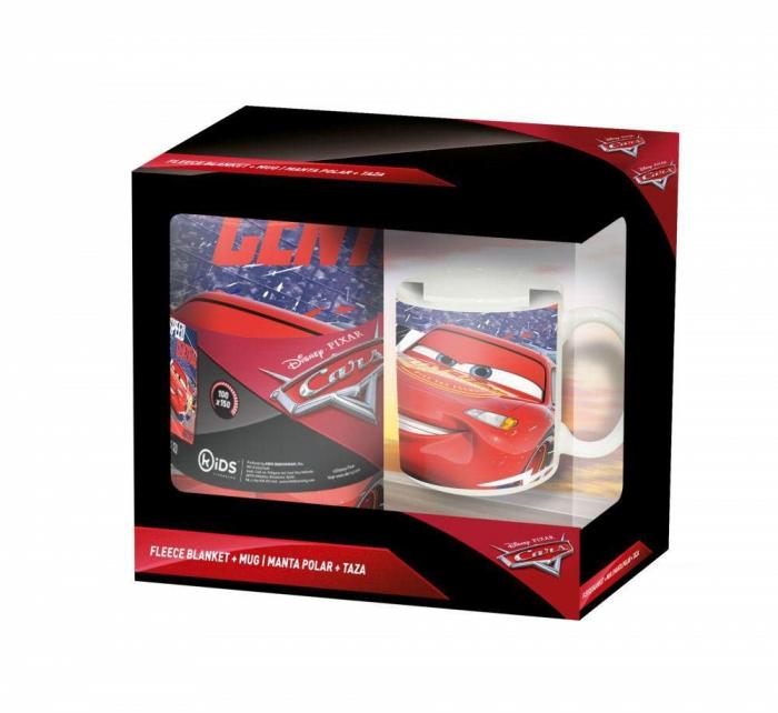 Set Cars, patura 150x100 cm+cana 200 ml 0