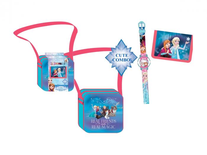 Set ceas,portofel si geanta de umar Frozen [0]