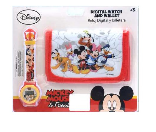 Set ceas si portofel Mickey Mouse 0