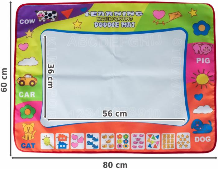 Set creatie, Deseneaza cu apa, 80x60 cm [3]