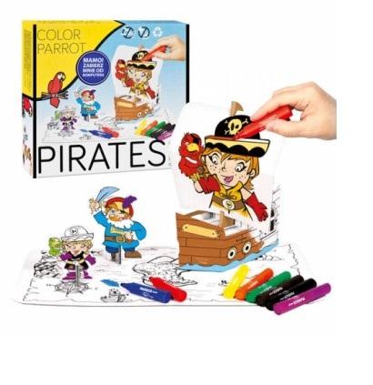 Set creativ Piratii 3D 0