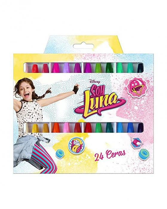 Set creioane cerate Soy Luna, 24 bucati 0