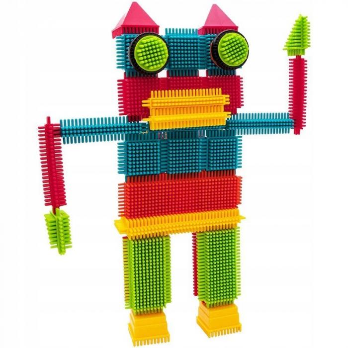 Set de construit Blocks Tip tepi multicolori, 90 piese [4]
