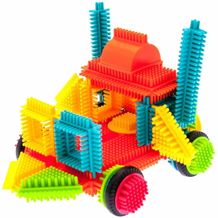 Set de construit Blocks Tip tepi multicolori, 90 piese [5]