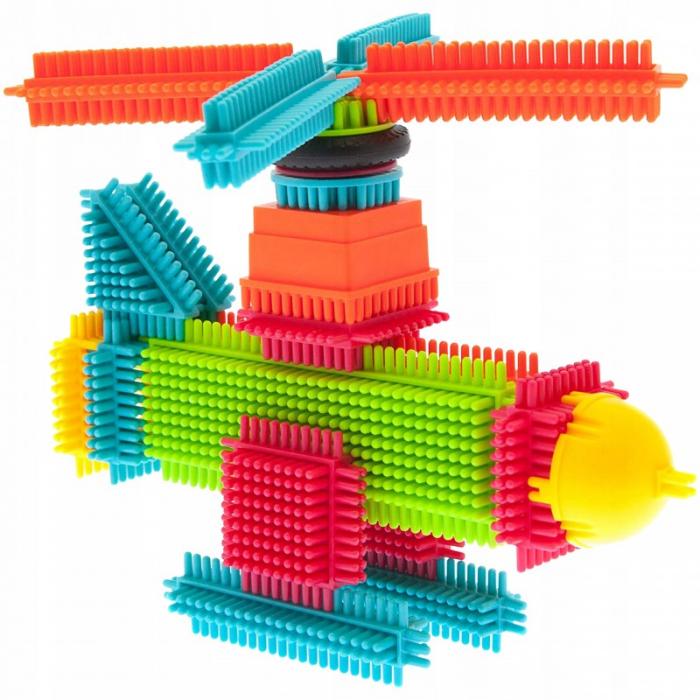 Set de construit Blocks Tip tepi multicolori, 90 piese [1]