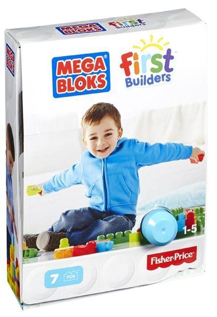 Set de construit cu Mega Bloks Fisher, 7 piese 0