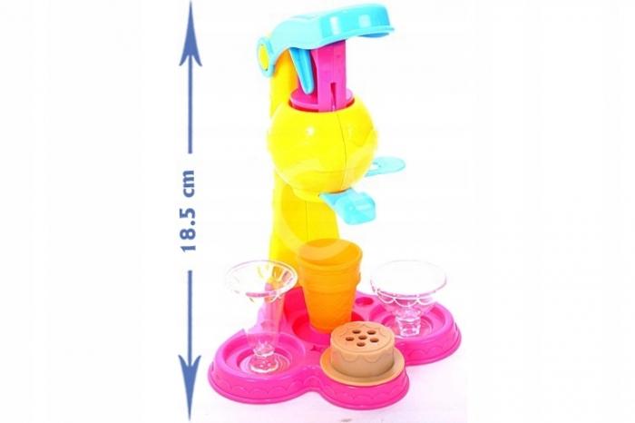 Set de joaca Masina Inghetata plastilina, 21 piese [4]