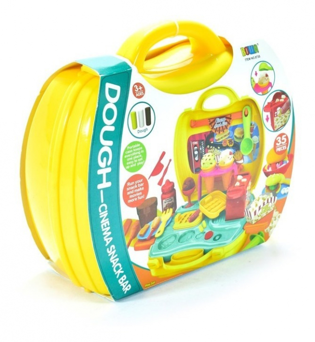 Set de joaca Snack bar valiza galbena 23X21X10 cm [1]