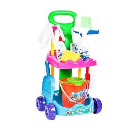 Set de curatenie pentru copii, cu accesorii de curatat [0]