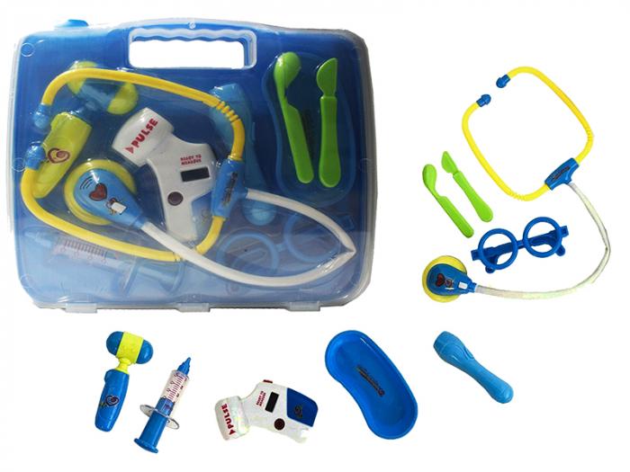 Set de joaca trusa medicala bleu 27,5x24x5,5cm [5]