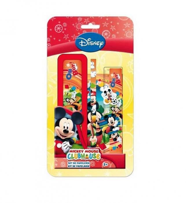 Set de papetarie Mickey Mouse, 3 piese 0