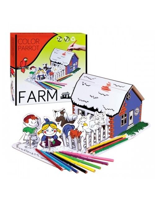 Set desen Starpack Farm pentru colorat 0