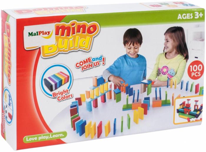 Set domino, 100 piese [0]