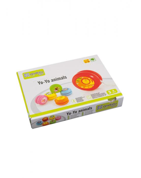 Yo-yo din lemn, animale [1]