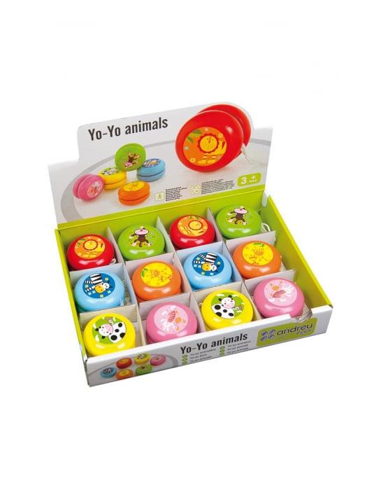 Yo-yo din lemn, animale [3]