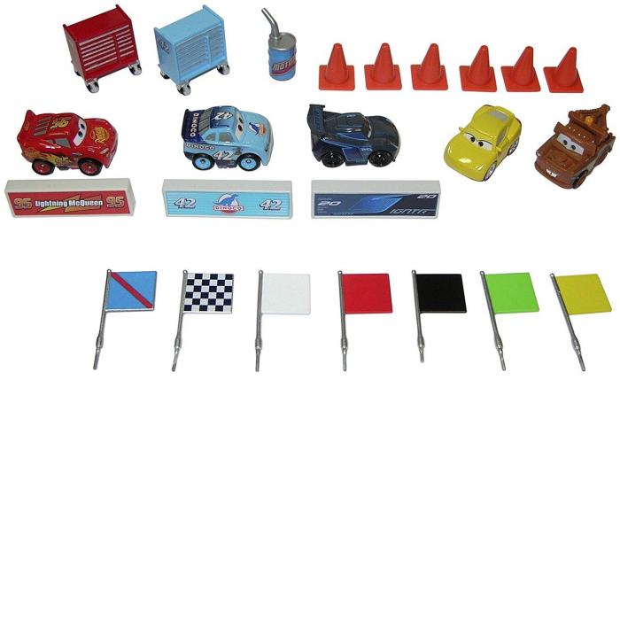 Set figurine metal Cars 3 Disney, Calendar Advent [0]
