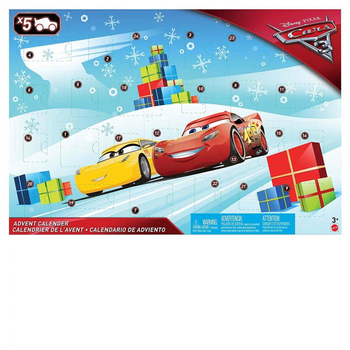 Set figurine metal Cars 3 Disney, Calendar Advent [1]